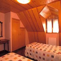 Habitación doble abuhardillada Hostal Pañart de Bielsa