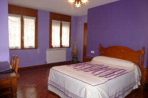 Habitación matrimonio Hostal Pañart de Bielsa